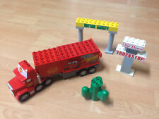 Lego duplo Cars Mack LKW + Trackstop Schilder