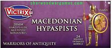 28mm Macedonian Hypaspists By Victrix, Hail Caesar, Swordpoint Ancients
