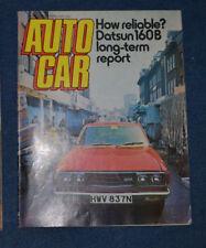 April Autocar Cars, 1970s Magazines