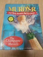 The Champagne Murders Murder Mystery Dinner Party Game tape edition