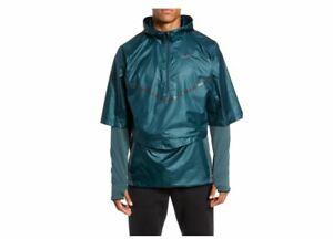 Nike XL Jacket Dri-Fit Convertible phere 2-Piece Water Repellent Running XL SZ