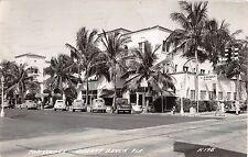 1947 Rppc Old Cars The Colony Delray Beach Fl