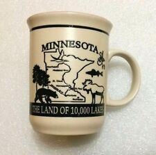 Minnesota Quiz Coffee Cup - 3D Relief Design Mug - Map, Animal, Quiz Graphic