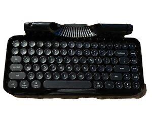 RYMEK Typewriter-Style Retro Mechanical Wired & Wireless Keyboard