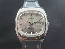 Vintage 1975 Hamilton DUNCAN Watch - Stainless Steel, Automatic, Serv'd 9/20