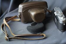 """for LEICA M3 M 3 ever ready case early ¼"""" screw late vintage original Tasche"""