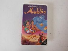 DISNEY ALADDIN (VHS 1993) -WALT DISNEY'S BLACK DIAMOND CLASSIC VCR TAPE L$$K!!