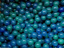 """MARBLE LOT 2 POUNDS OF 5/8"""" PLANET EARTH MULTI COLOR MEGA MARBLES FREE SHIPPING"""
