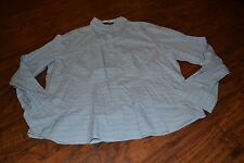G0- Goodclothes Super Fine Weave Long Sleeve Button Down Shirt Size XL