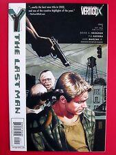 Y: THE LAST MAN #9 (NM) BRIAN K VAUGHAN HTF 1st print! Vertigo DC 2002 Saga chew