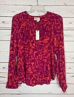 Conversations By Anthropologie Women's 6 Spring Top Blouse Shirt NEW With TAGS