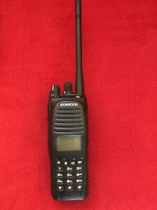 Kenwood TK-5210 K3 VHF P25 Radio Talkie Handheld full keypad 136-174 MHz.