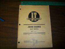 New listing John Deere 2510 Series Tractor I&T Shop Manual
