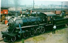 Ct Valley Lines, Old 97 Steam Engine, S New England Postcard