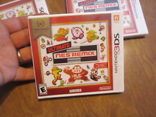 Ultimate NES Remix Nintendo 3DS NINTENDO SELECTS SERIES BRAND NEW FACTORY SEALED