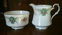 Vintage Royal Stafford True Love Milk / Cream Jug Sugar Bowl