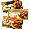 Japanese Golden Curry roux 198g Sauce Hot, Medium hot, Mild S&B Foods
