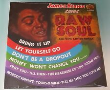 James Brown Sings Raw Soul Vinyl LP Album Reissue
