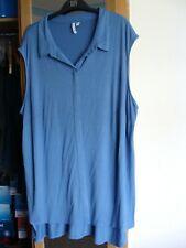 Collared stretch jersey dip hem shirt Capsule size 24