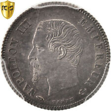 [#96397] France, Napoleon III, 20 Centimes, 1860, Paris, PCGS, MS62, SUP+