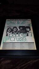 Pablo Cruise Never Had A Love Rare Original Promo Poster Ad Framed!
