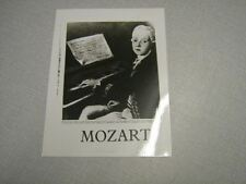 DIVERS PHOTO DE PRESSE 18*24 MOZART