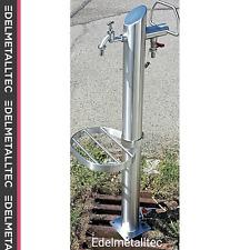 Wasserzapfstelle/ Wassersäule/Wasserpylon Garten/ Wasserzapfsäule 1000mm