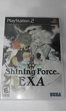 PS2 SONY PLAYSTATION 2 USA NTSC SHINING FORCE EXA - SEGA -