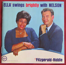 FITZGERALD  RIDDLE   CD  ELLA SWINGS BRIGHTLY WITH NELSON