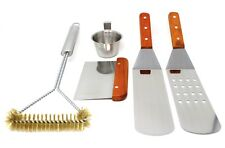 CONCORD 5 Piece Stainless Steel BBQ Griddle Utensil Grill Tools Kit Outdoor