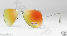 New Unisex POLARIZED Aviator Sunglasses Mens Womens Vintage Retro