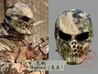 Skull Full Face Mask Outdoor Play War Game Skull Airsoft Paintball Eye Protect