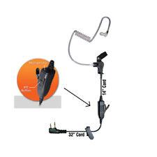 Klein Star 1-Wire Earpiece for Maxon Midland GTX GXT (See List)