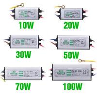 10W20W30W50w100W LED Driver InputAC85-265V Power Supply Waterproof For loodlight