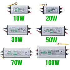 10W20W30W50w100W LED Driver InputAC85-265V Power Supply Waterproof For loodlight