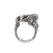 Silver Unicorn Statement Ring Size 6 Mythical Animal Fantasy Creature 243