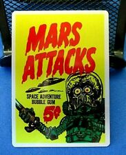 MARS ATTACKS OCCUPATION TOPPS  2015 ***METAL CARD CASE TOPPER  MM-C***