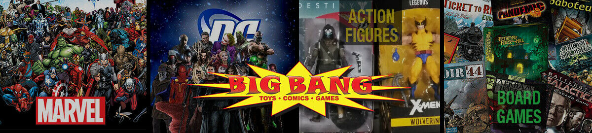 Big Bang Toys•Comics•Games