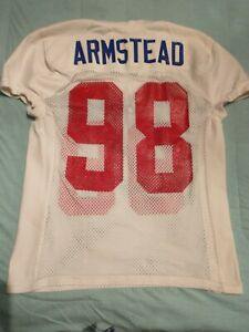 Jessie Armstead 2001 New York Giants Practice Issued Jersey Reebok Size 46