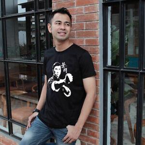 New T-shirt Black Tee IP MAN WING CHUN New Men's Tshirt Size S to 3XL