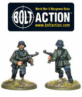 Bolt Action 28mm - WW2 German Army Blitzkrieg Heer SS HQ Command Officer D-DAY B