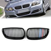 Gloss Nero M Color Kidney griglia anteriore Per BMW E92 E93 2DR LCI 2006-2009 IT
