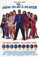 HOW TO BE A PLAYER Movie POSTER 27x40 Bill Bellamy Natalie Desselle Lark