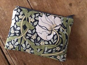 Handmade Coin Purse William Morris Pimpernel Fabric