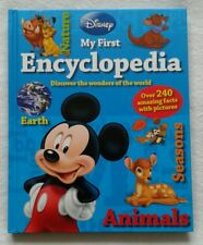 Disney My First Encyclopaedia Pre school learning 240 facts and pictures