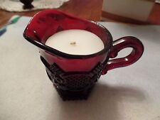 Avon Cape Cod Ruby Red Creamer