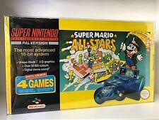 Premium Super Nintendo Console Box Protector for Mario All Stars, Street Fighter