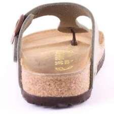 Scarpe da uomo grigie Birkenstock 100% pelle