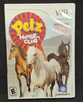 Petz: Horse Club - Nintendo Wii Wii U Game Working  Tested