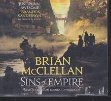 SINS OF EMPIRE by BRIAN MCCLELLAN ~UNABRIDGED CD AUDIOBOOK